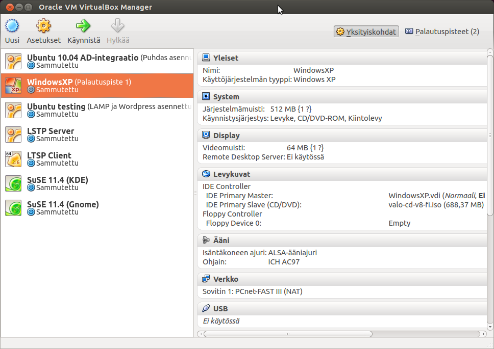 Migrating from VirtualBox to Virt-Manager - Seravo
