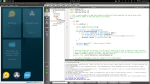 SailfishOS IDE open. Just press Ctrl+S to save and see app reloading!