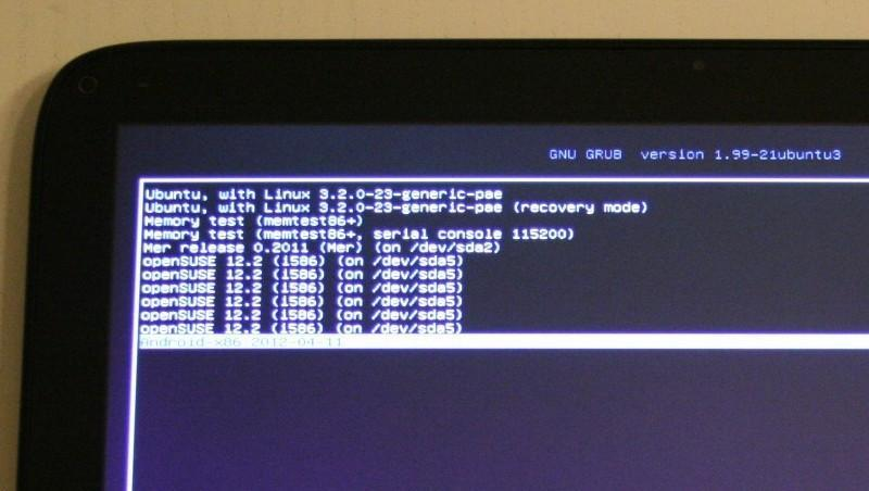 Installing Android-x86 4 0 on the ExoPC (WeTab) - Seravo